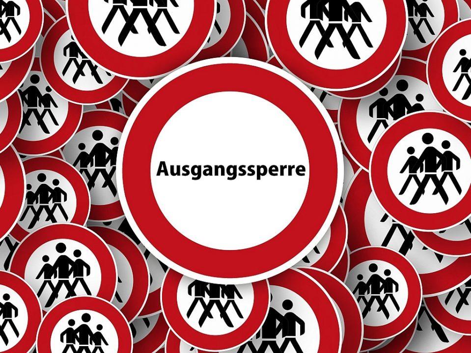 Ausgangssperre Gerd Altmann ban 4950426 1920 pixabay CC PublicDomain