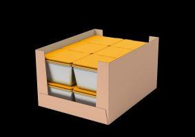Konzept Box Nachos Tray Pacoon