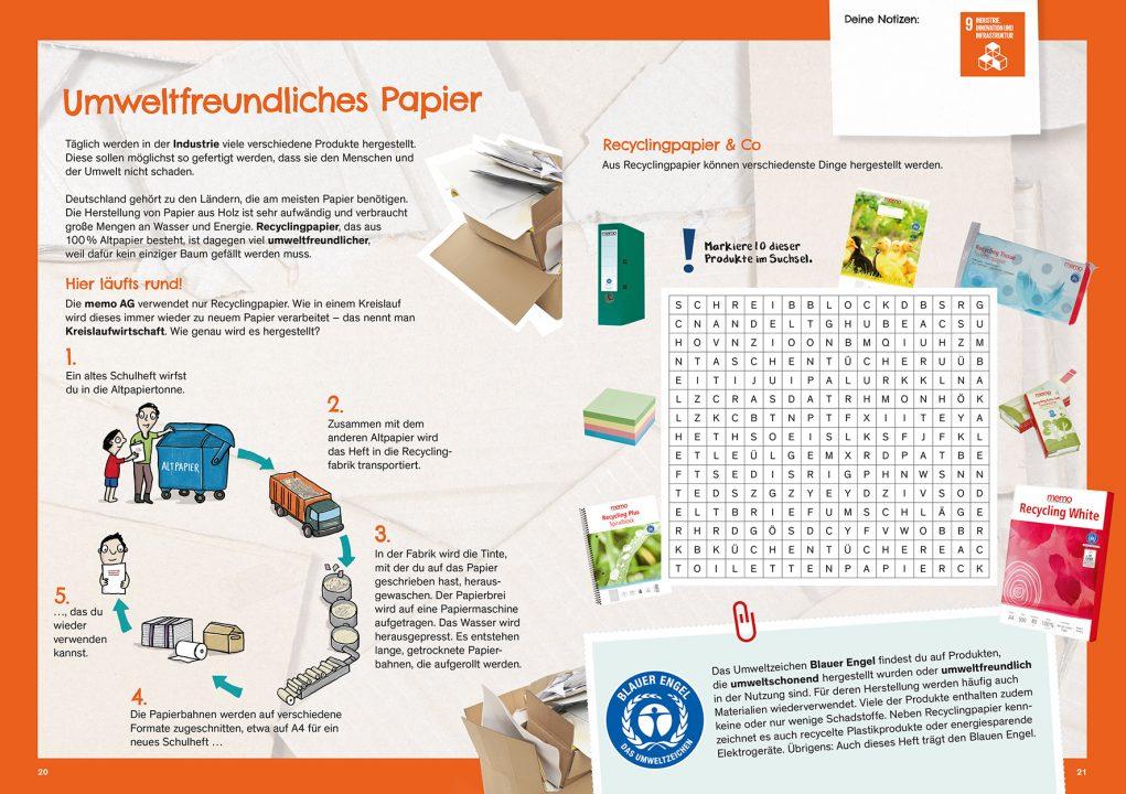 Memo Kinderbuch Seite 20 21 Memo