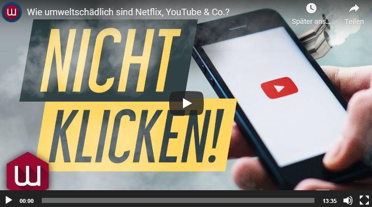 Achtung: Dieses Video ist umweltschädlich!