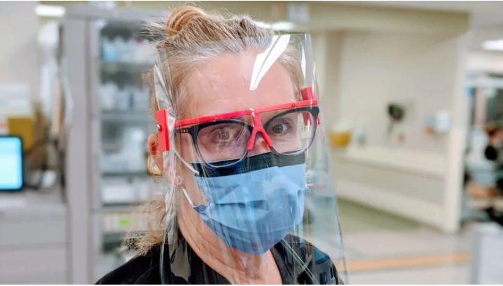 3D-gedruckte COVID-19 Gesichtsmasken