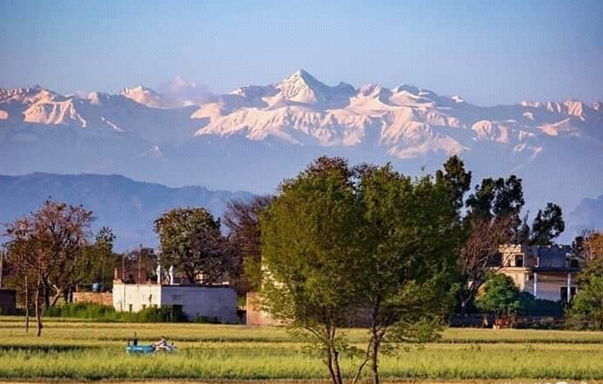 wg. Corona: Klare Sicht auf den Himalaya