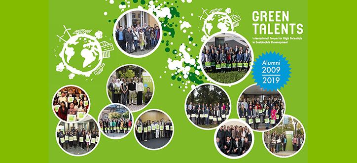 green talents award alumni broschure 2009