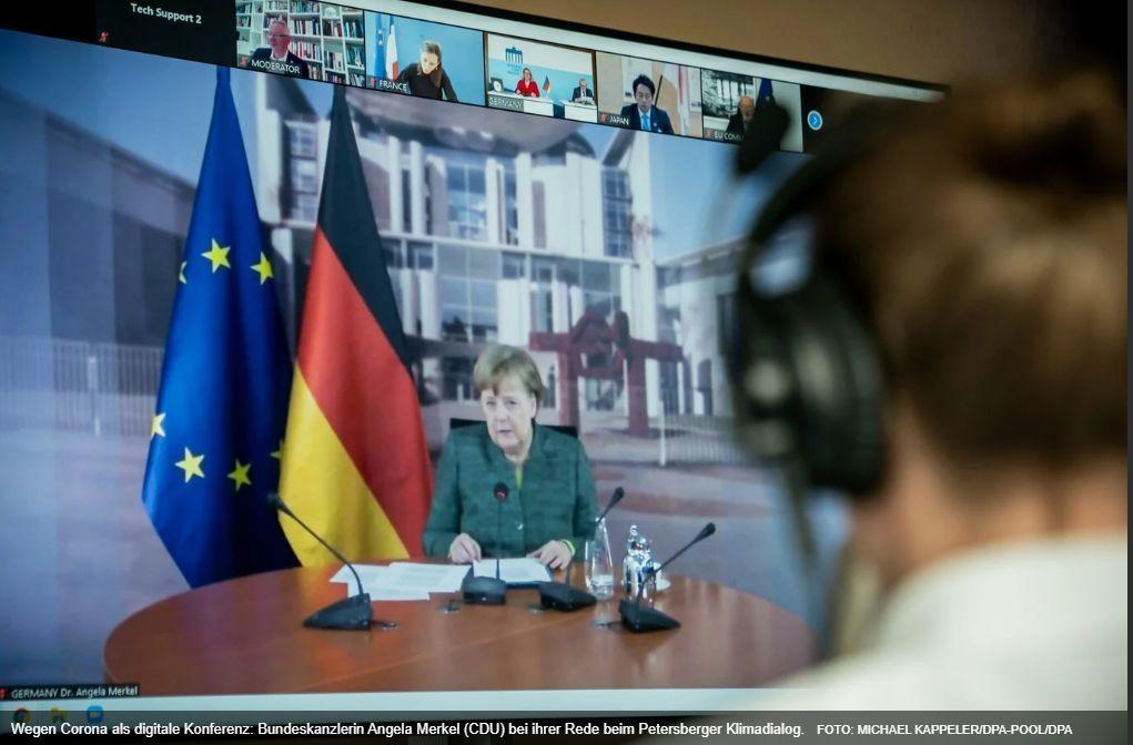 Merkel für ehrgeizigere EU-Klimaschutzziele