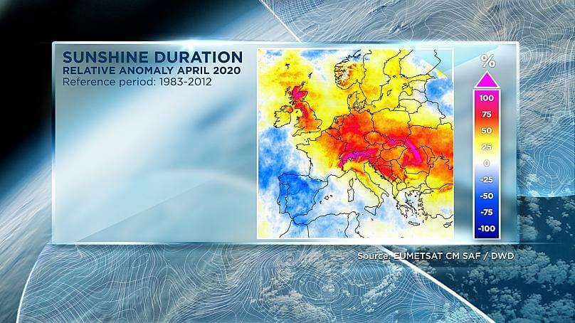 sonnenstunden april 2020 euronews