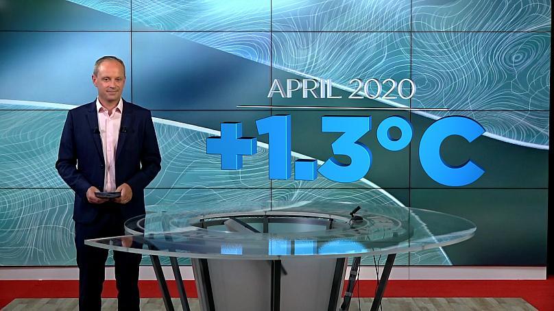 temperatur april 2020 euronews