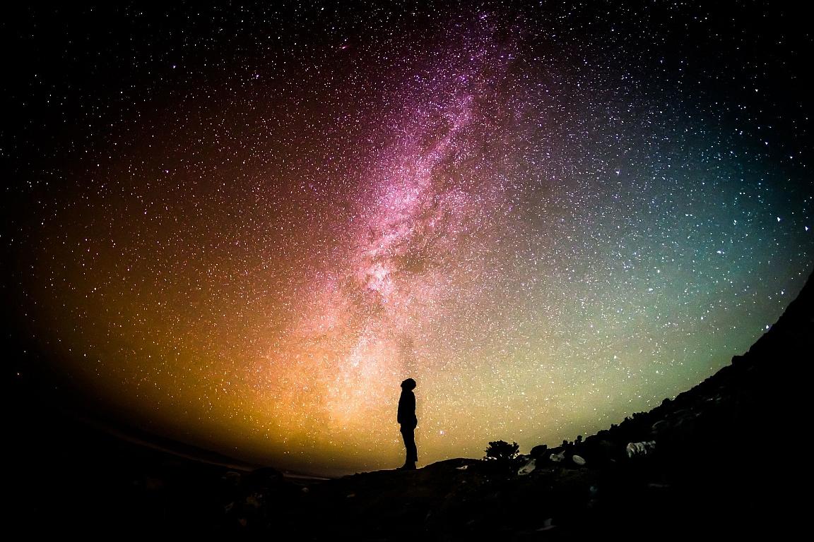 Leben im All 17.000 Lichtjahre weg