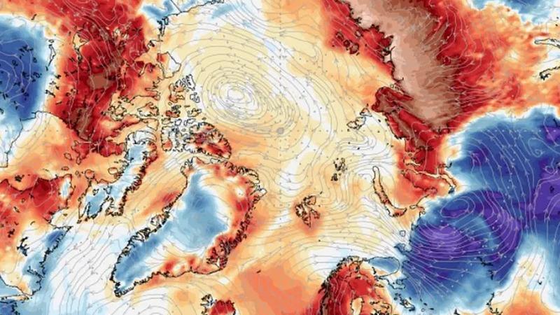 Schwitzen am Polarkreis
