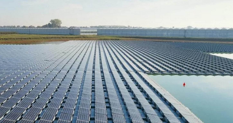 Statt Braunkohlegrube schwimmende Solarparks