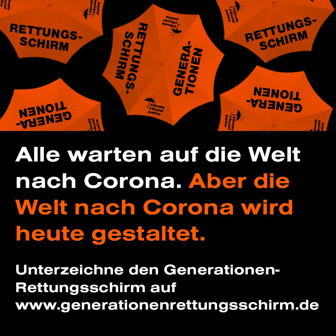 Generationen-Rettungsschirm: Allianz für die Zukunft