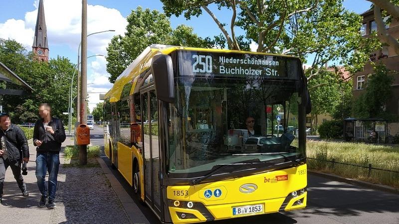 Berliner Busse bald unter Strom