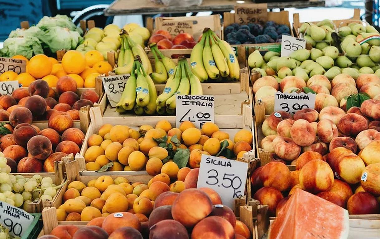 Mikroplastik in Obst und Gemüse