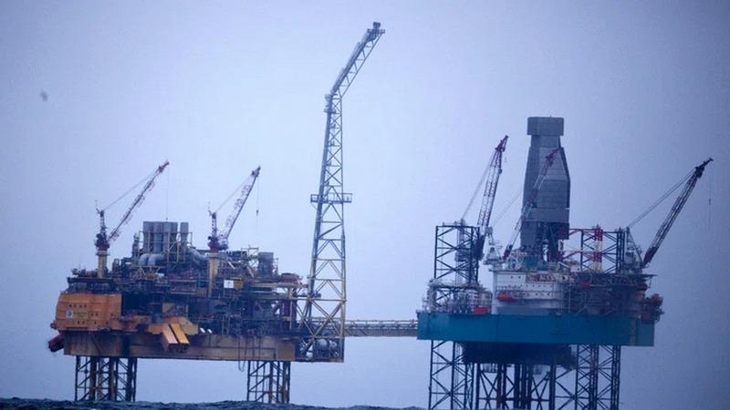 Methan aus Ölbohrlöchern strömt in die Nordsee