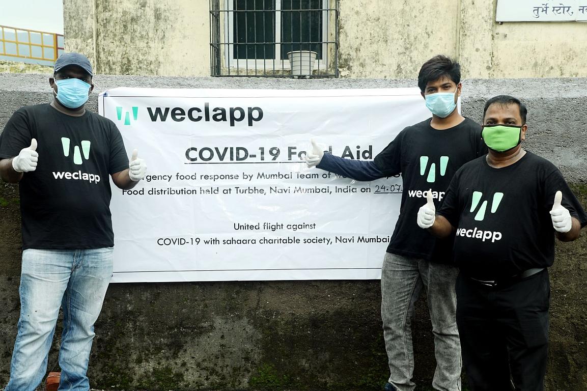 Weclapp Food Aid weclapp Team Mumbai