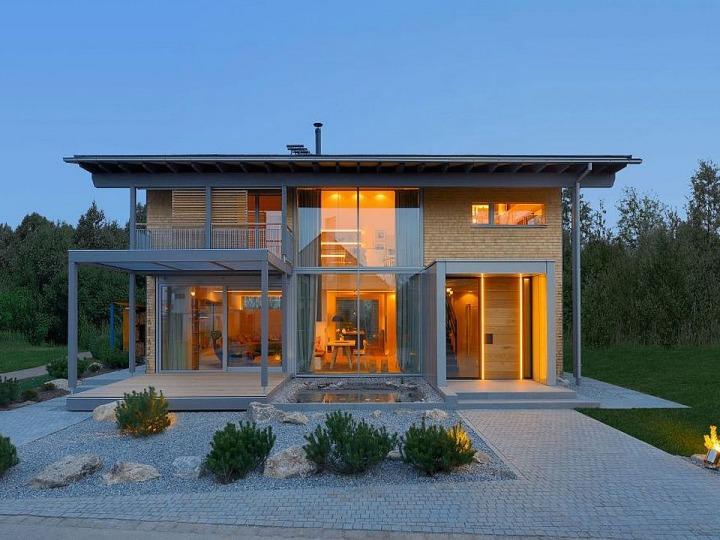 1 designhaus musterhaus alpenchic holzhaus