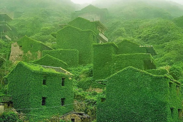Abandoned village on Gouqi island  China