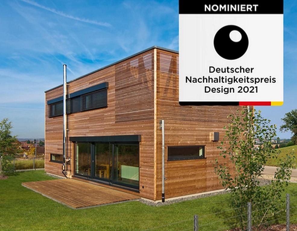 Baufritz für Nachhaltigkeits-Preis Design nominiert