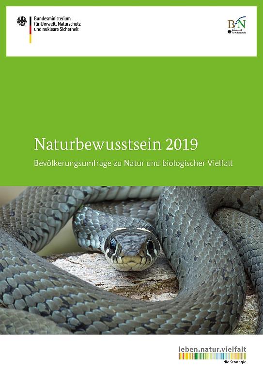 Cover Naturbewusstsein2019 BfN