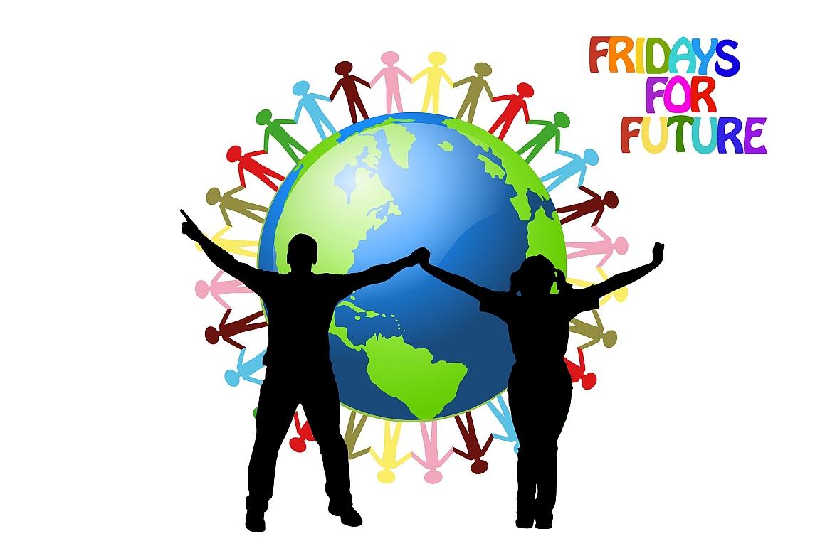 FFF Logo Gerd Altmann climate strike 4770287 1920 Pixabay CC PublicDomain