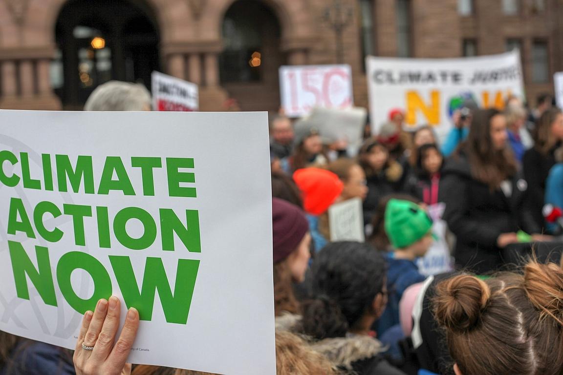 Die Klimaschutz-Demo geht weiter