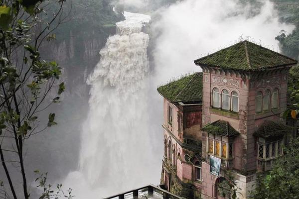 Hotel del Salto Tequendama Falls Kolumbien