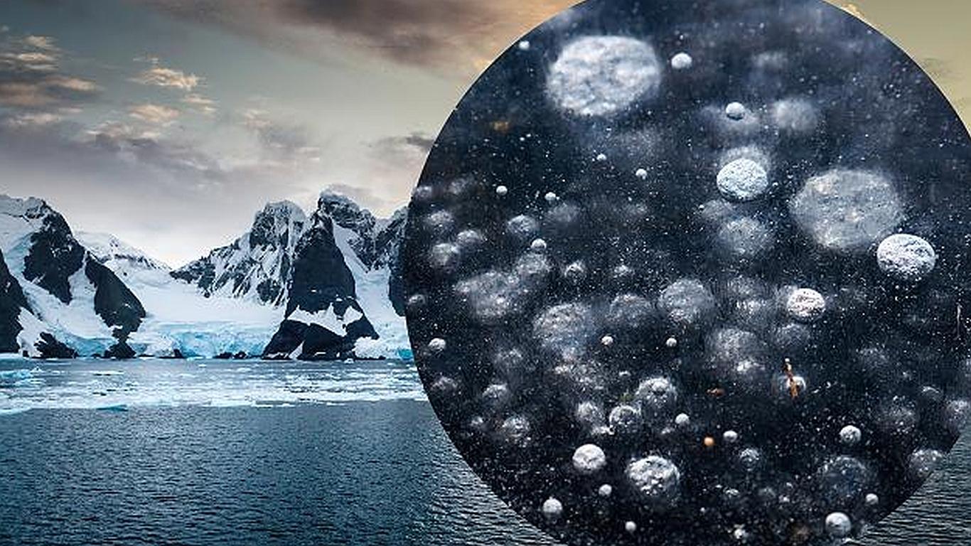 Methanleck in der Antarktis schürt neue Klima-Sorgen