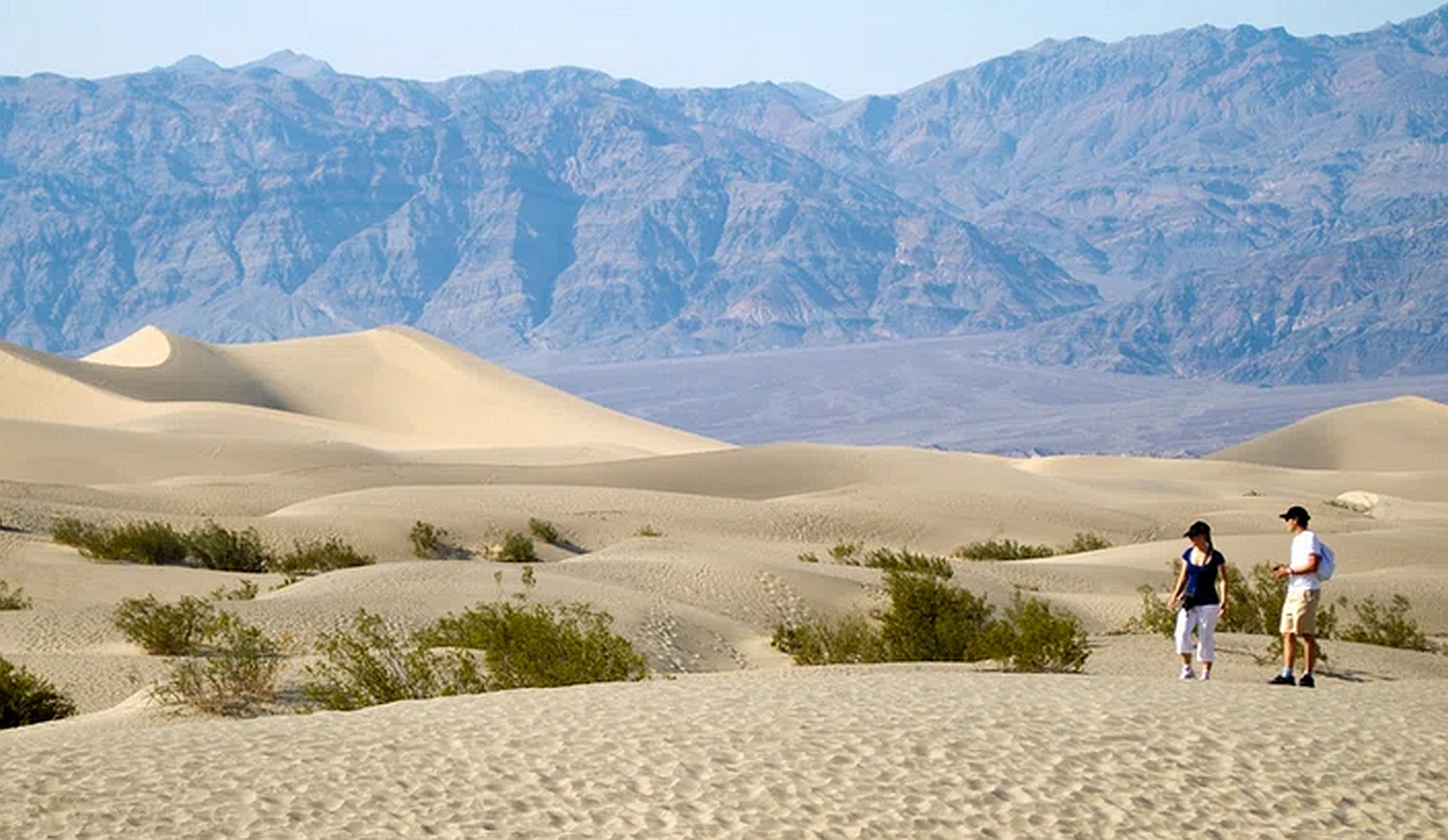 Weltrekord-Hitze im Death Valley