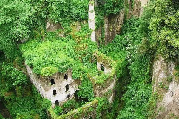 Tal der Mühlen in Sorrento  Italy