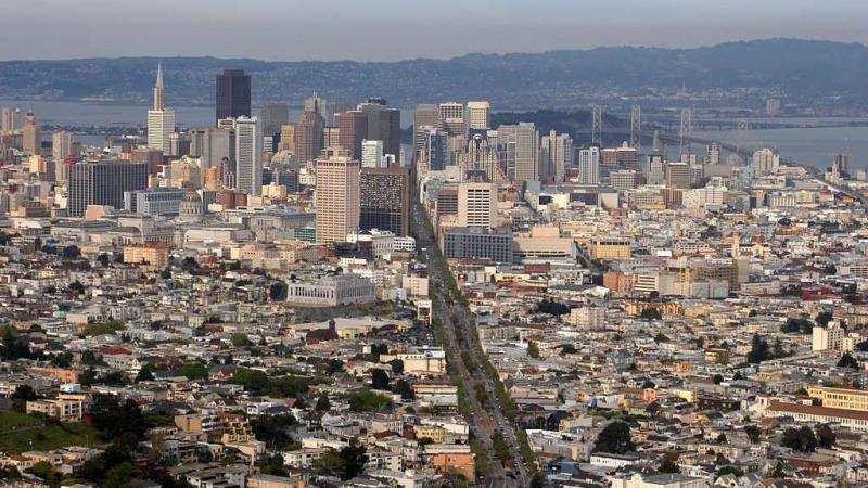 Kaliforniens Küste sinkt