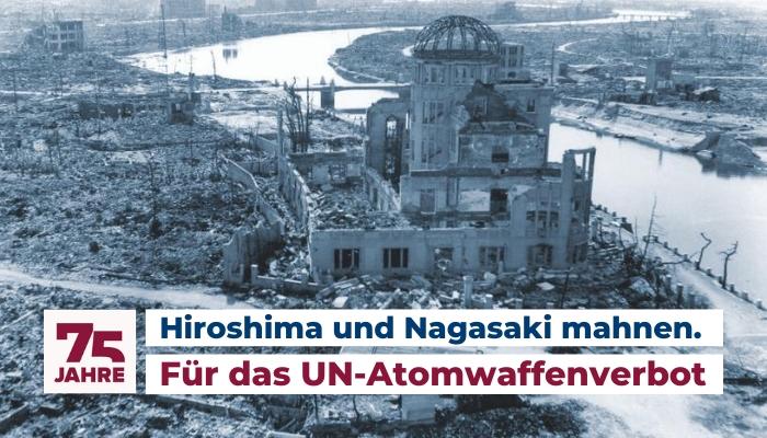 75 Jahre nach Atombombenangriff auf Japan
