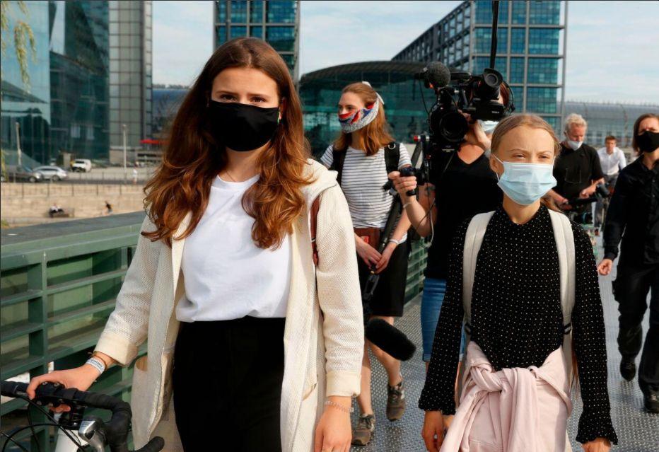 Merkel empfängt Klimaaktivistinnen