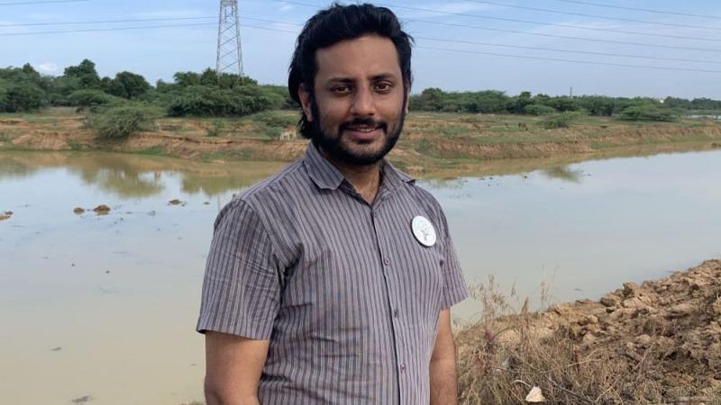 Arun Krishnamurthy:  von Google zur Müllabfuhr