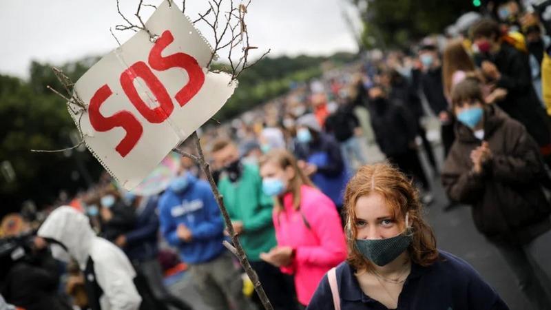 Klimaschutz zurück auf der Straße