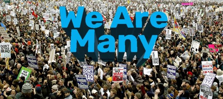 """Die unbesiegbare Menge – """"We are many"""""""
