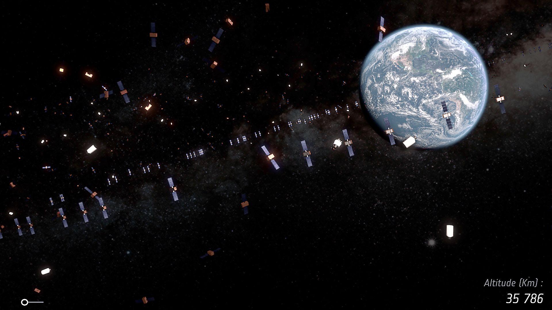 Weltraummüll: die aktuelle Lage