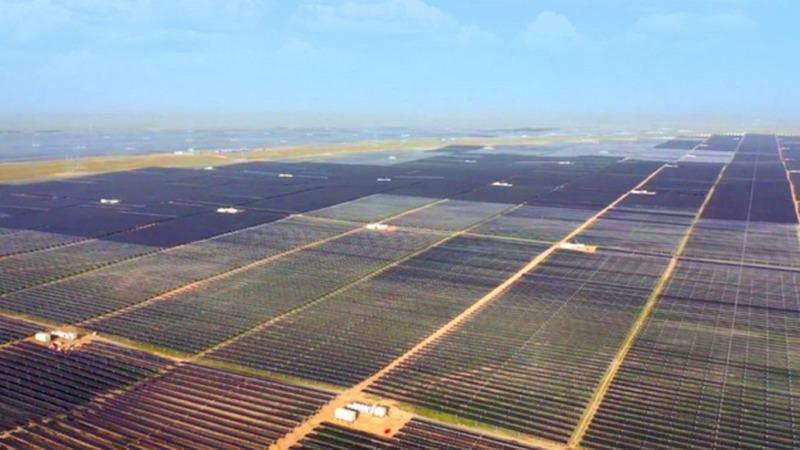 Größtes Solarkraftwerk der Welt ging in China ans Netz