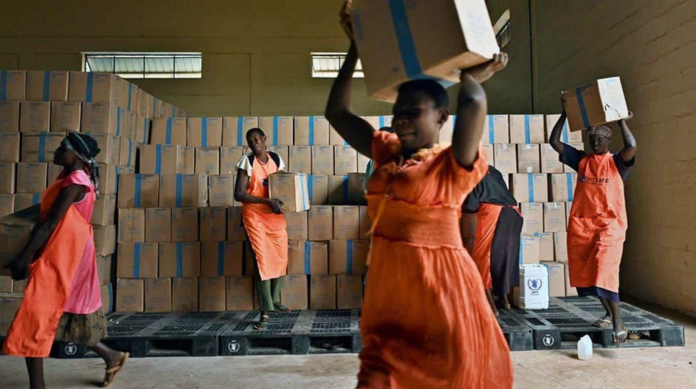 Friedens-Nobelpreis für Welt-Ernärungsprogramm