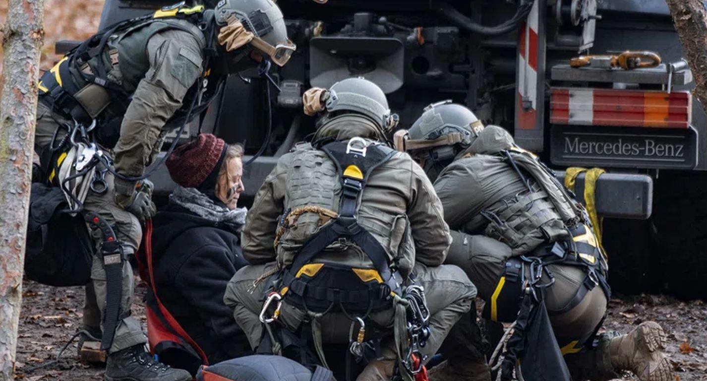 Carola Rakete bei Protest gegen A 49 festgenommen