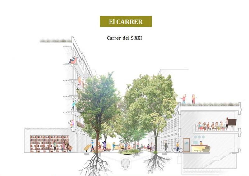 strassenflaeche barcelona city Ajuntament de Barcelona