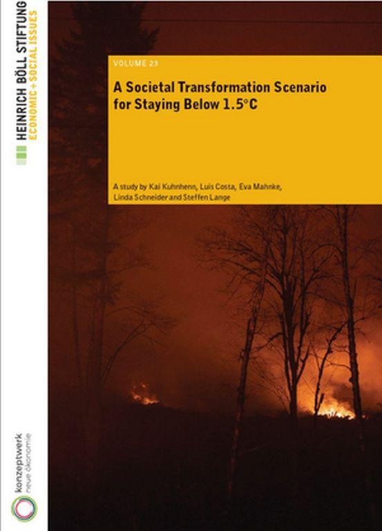 Boell Stiftung KLimaschutz Studie Cover