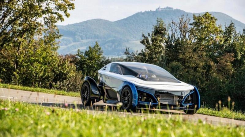 DLR baut Wasserstoff-Auto
