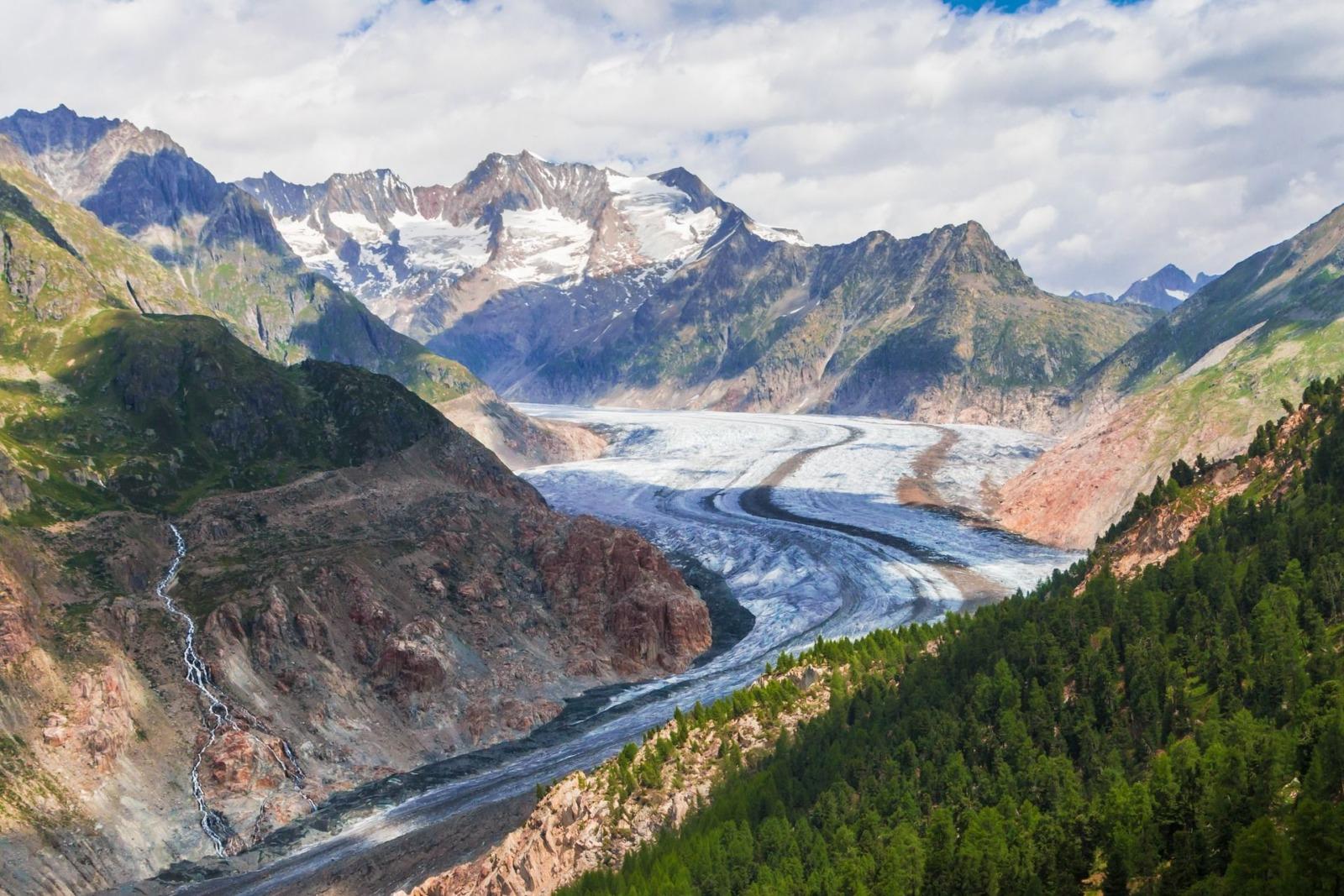 wallis aletsch getscher glacier TeeFarm pixaby