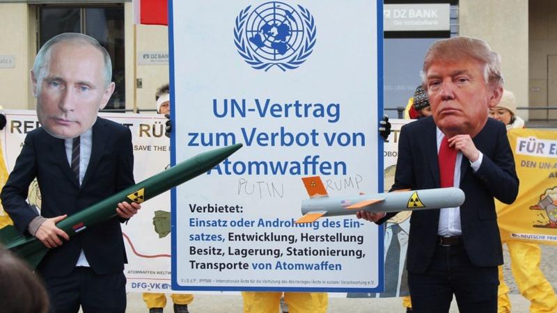 Brief an Söder: Atomwaffen verbieten