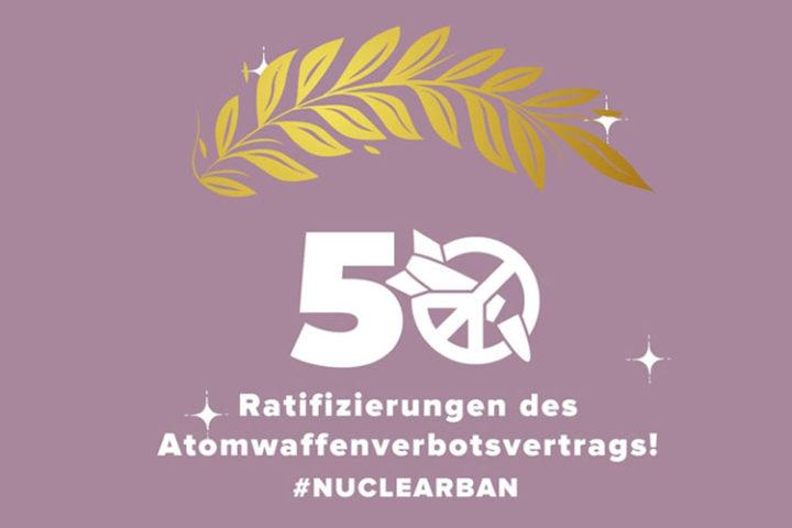 Yes, We Ban – Atomwaffenverbotsvertrag in Kraft