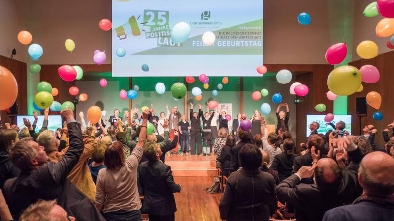 Grüne Wirtschaft mit starker Stimme