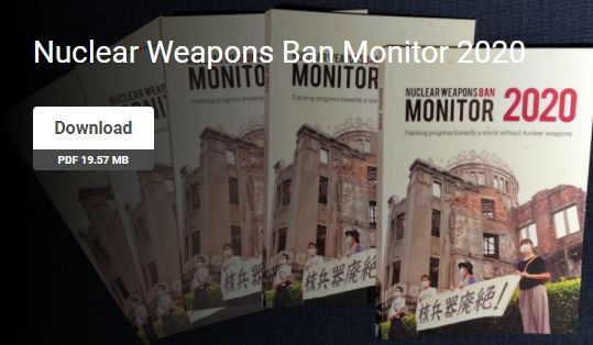 nuclear weapons ban monitor2020