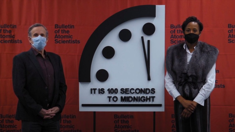 Covid-19 Weckruf – Es ist 100 Sekunden vor Mitternacht