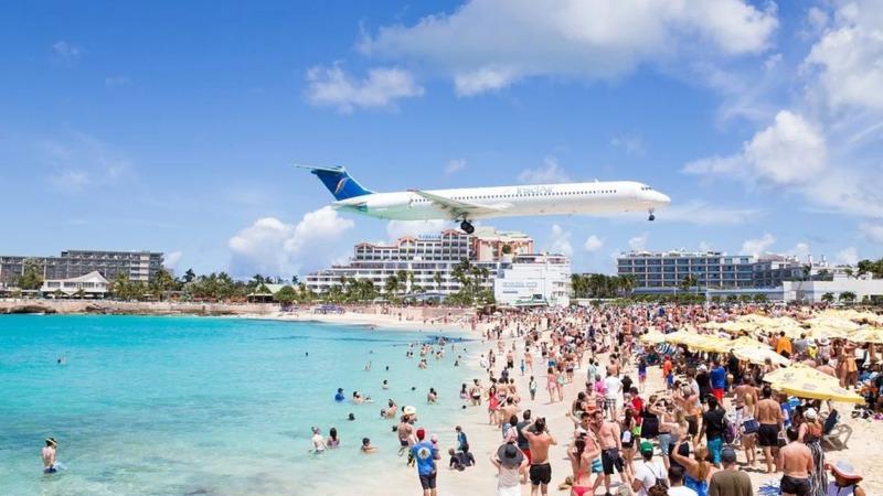 Klima: Flughäfen verschwinden im Meer