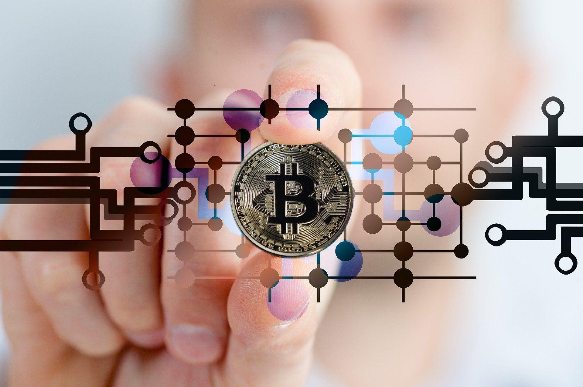 Bitcoin vergrößert Müllberg