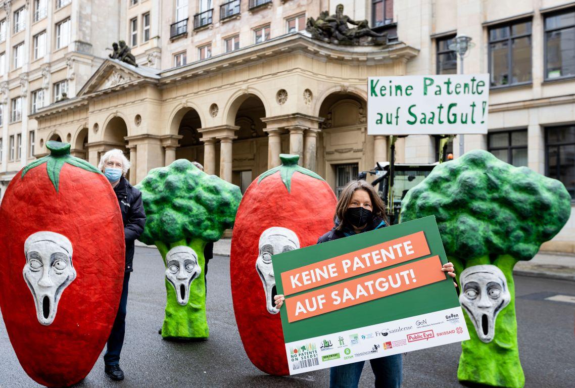 Aktion No patents on seeds Joerg FARYS 97